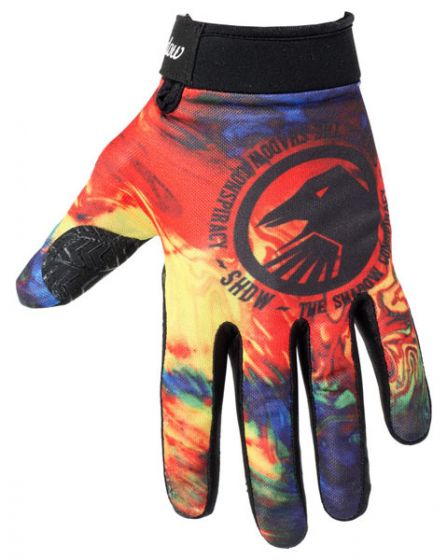 Shadow Tie Dye Conspire Gloves