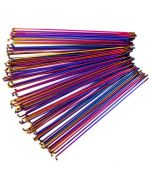 TotalBMX Rainbow Double Butted Spokes (Pack Of 40)