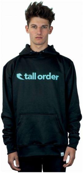 Tall Order Font Logo Poly-Tech Hoodie