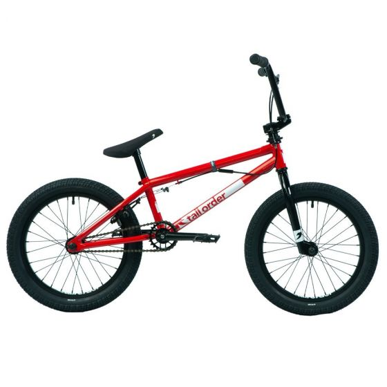 Tall Order Ramp 18-Inch 2021 BMX Bike-Gloss Red