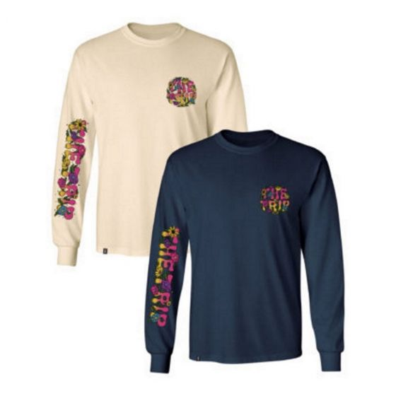 The Trip Floral Long Sleeve T-Shirt