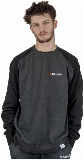 Tall Order Embroidered Logo Crew Sweatshirt
