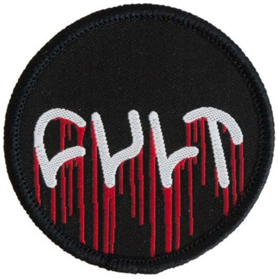 Cult Circle Drip Logo Embroidered Patch