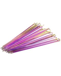 Blank Pack Of 40 Oil Slick Spokes