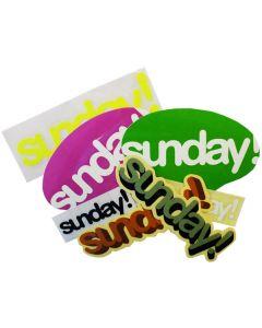 Sunday Sticker Pack