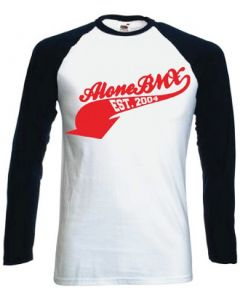 Alone 3/4 Sleeve Baseball Jersey