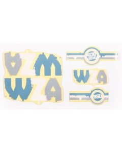 BSD WZA V2 Frame Sticker Pack