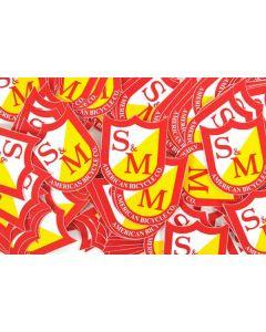 S&M Shield Sticker Pack