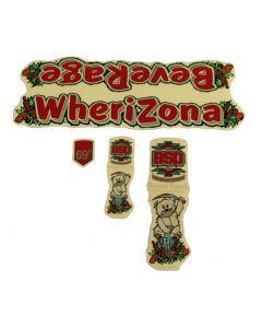 BSD Beverage Wherizona Frame Sticker Pack