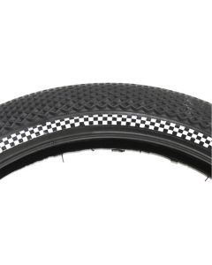 Cult Vans Checkered Reflective Wire Tyre