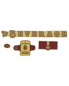 BSD Beverage Frame Sticker Pack