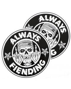 Fiend Always Fiending Ramp Sticker