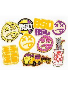 BSD Assorted 2016 Sticker Pack