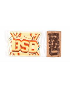 BSD ALVX V3 Frame Sticker Pack