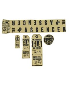 BSD Passenger V1 Frame Sticker Pack