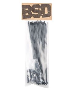 BSD Stainless Butted Spokes x40