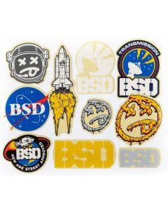 BSD Assorted 2017 Sticker Pack