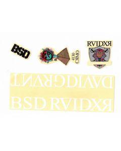 BSD Raider V3 Frame Sticker Pack