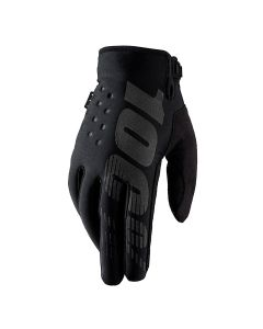 100% Brisker Cold Weather Gloves - Black