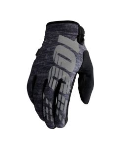 100% Brisker Cold Weather Gloves - Heather