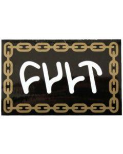 Cult Chain Logo Sticker