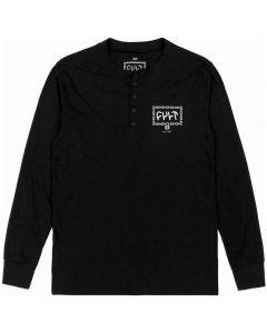 Cult Throw Away The Key Henley Long Sleeve T-Shirt