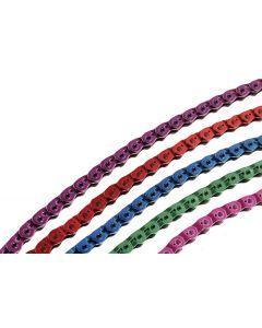 Gusset Coloured Slink Half-Link Chain