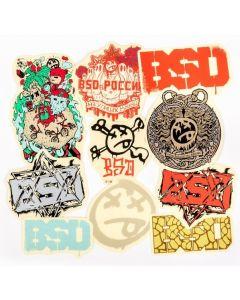 BSD Assorted 2014 Sticker Pack