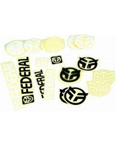 Federal 18pc Sticker Pack
