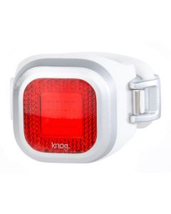 Knog Blinder Mini Chippy Rear Light - Silver