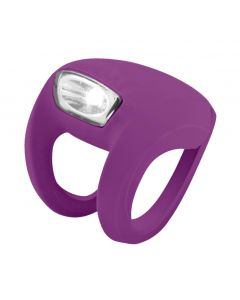 Knog Frog Strobe Front Light - Grape