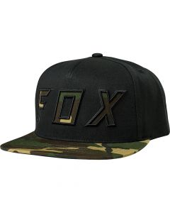Fox Posessed 2018 Snapback Hat - Black