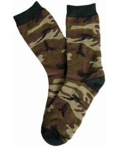 Shadow Crow Camo Crew Socks