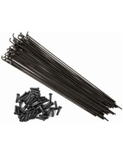 Shadow Featherweight Butted Spokes - 40 Pack