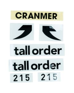 Tall Order 215 Frame Stickers