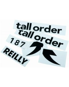 Tall Order 187 Reilly Frame Stickers