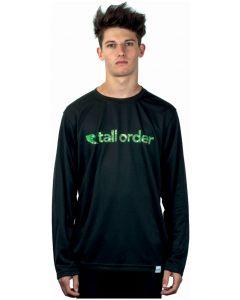 Tall Order Font Breathe-Tech Long Sleeve T-Shirt