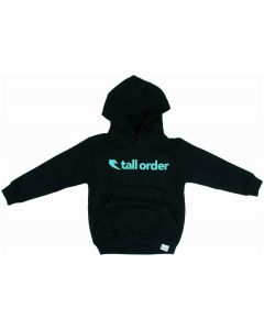 Tall Order Font Kids Hoodie