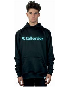 Tall Order Font Logo Poly-Tech Hoodie