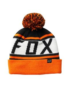 Fox Throwback 2018 Beanie - Black/Orange