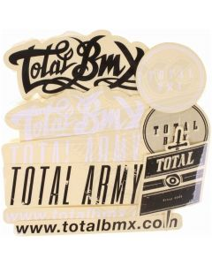 Total BMX Sticker Pack Mixed