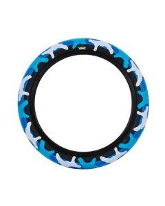 Cult Vans 12-Inch Blue Camo Tyre