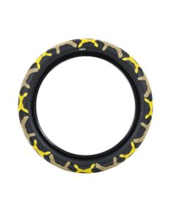 Cult Vans 12-Inch Yellow Camo Tyre