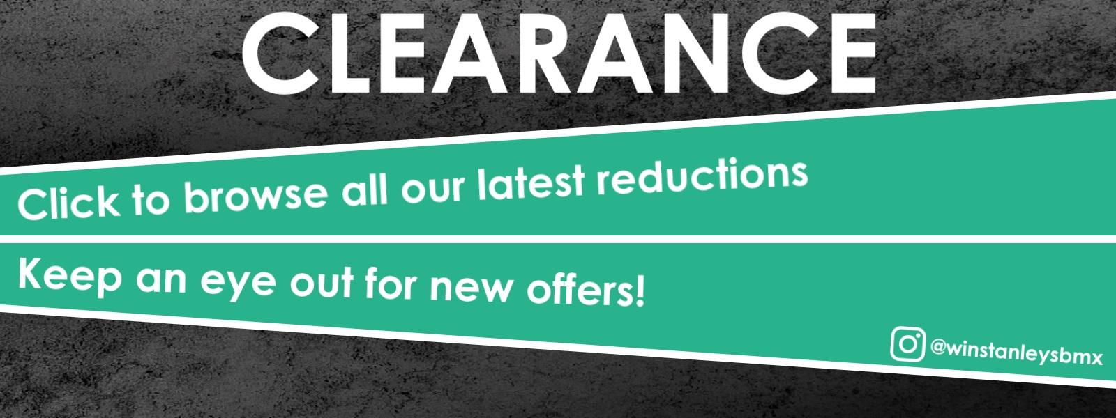 Clearance Sale BMX 2019
