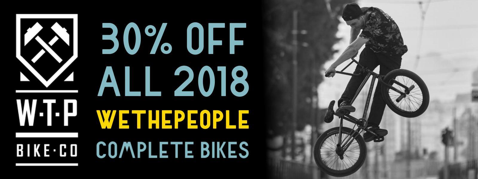 WeThePeople 2018 Bikes